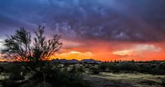 Stormy Sunset (Buck--Fever) Tags: arizona arizonaskies arizonadesert arizonasunset arizonawonders sunset sunrise canon60d tamron18400lens centralarizona