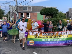 Carnival 2019, P'town MA (Boston Runner) Tags: provincetown ptown carnival 2019 enchantedforest parade costumes massachusetts capecod keywest rainbowflag pride 100feet large