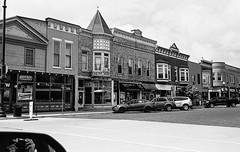 Self Portrait, W Main St Evansville WI (Postcards from San Francisco) Tags: m2 35mmsummicroniv trix berspeed film analog wisconsin