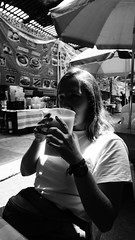 horchata (David Le Chien) Tags: blacknwhite culture contrast cool cdmx cinema college chill people photo photographer pulp film 35mm canonae1 filmphoto