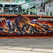 Art at Danube Canal in Vienna