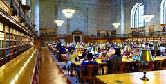 Rose Main Reading Room @ The NYPL (Chaz Cheadle) Tags: books library reading nypl nikond80 d80
