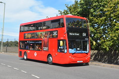 YJ19 HVA (OME2650) Metroline London (hotspur_star) Tags: londontransport londonbuses londonbus londonbuses2019 optaremetrodecker electricbus tfl transportforlondon busscene2019 doubledeck metrolinelondon yj19hva ome2650 134