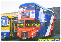STRATHTAY SCOTTISH SR1 WLT943 (SCOTTISH BUS ARCHIVES) Tags: wlt943 aecroutemaster parkroyal sr1 londontransport rm943 scottishbusgroup strathtayscottish bellviewofpaisley wts225a