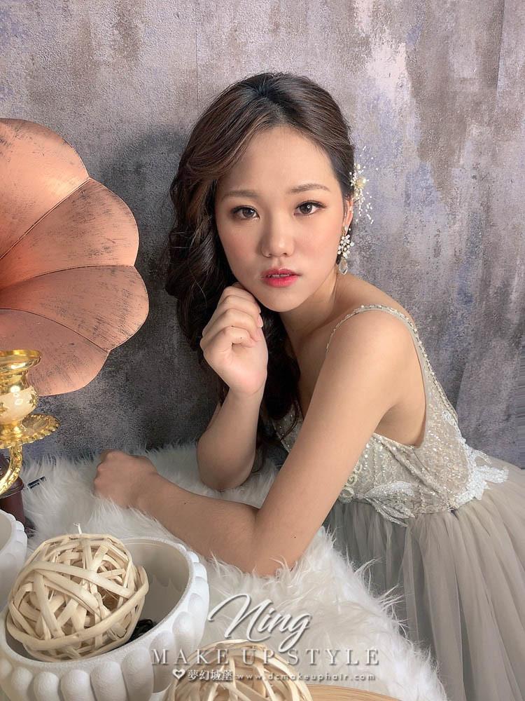【新秘羽寧】新娘造型創作 / 浪漫捲髮