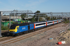 43480 31-08-19 (IanL2) Tags: emr eastmidlandsrailway hst intercity125 class43 43480 wellingborough northamptonshire mml railways trains