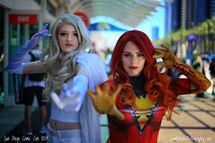 San Diego Comic Con International 2019 (Sam Antonio Photography) Tags: cosplayer costumes sdcc comiccon comicconinternational sandiegocomiccon woman superhero model actress movie fashion beauty beautiful young female attractive hairstyle makeup fashionable femininity lifestyle outfit