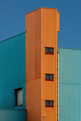 Symphony of shapes (jefvandenhoute) Tags: belgium belgië antwerp antwerpen harbour haven shapes geometric light