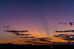 evening sky / @ 35 mm / 2019-09-03 (astrofreak81) Tags: explore clouds sunset sun wolken sonnenuntergang sonne sky himmel heaven light dawn redsky evening abend red orange dresden 20190903 astrofreak81 sylviomüller sylvio müller