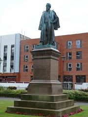 Barrow - Statue [Lord Frederick Cavendish] 190810 (maljoe) Tags: barrow barrowinfurness statue