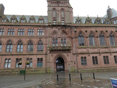 Open Plaque - Barrow [Town Hall] 190810 [location] (maljoe) Tags: openplaque openplaques plaque plaques barrow barrowinfurness townhall