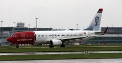 EI-FHU (PrestwickAirportPhotography) Tags: egcc mnchester airport norweigan boeing 737 b737 eifhu