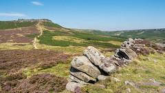 Carl Wark - remains of hill fort (Maria-H) Tags: carlwark hillfort hills peakdistrict derbyshire uk olympus omdem1markii panasonic 1235