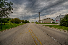 Sky Getting Angry (kendoman26) Tags: hdr nikhdrefexpro2 stormclouds sky sonyalpha sonyphotographing sonya6000 sel1628 sonyvclecu1 morrisillinois