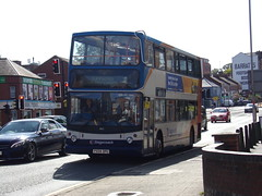 Stagecoach TransBus Trident (TransBus ALX400) 18155 PX04 DPU (Alex S. Transport Photography) Tags: bus outdoor road vehicle stagecoach stagecoachmidlandred stagecoachmidlands route4 alx400 alexanderalx400 dennistrident trident unusual transbustrident transbusalx400 18155 px04dpu