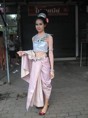 9 years before (ChalidaTour) Tags: thailand thai asia asian girl woman femme fils chica nina teen sweet cute sexy beautiful pretty slender slim petite dancing dress night outside portrait