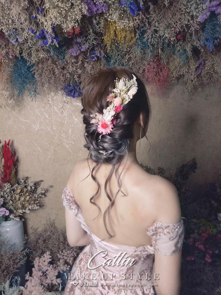 【新秘Catlin】新娘造型創作 / 仙女盤髮造型