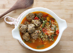 Slow Cooker Meatball Soup Recipe (dtzapztl76) Tags: recipe meatball meat beef pasta sauce recipes food yummy