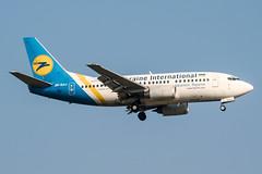 UR-GAJ (PlanePixNase) Tags: frankfurt fra eddf airport aircraft planespotting ukraineinternational boeing 737 737500 b735