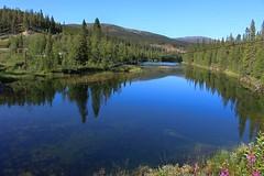 Lake 02 (Irmzaq photography) Tags: nature naturephotography photography jämtland fjäll mountain sky forest
