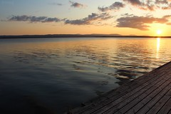 sunset 02 (Irmzaq photography) Tags: sunset sunsetphotography photography sun clouds sky water lake waves sweden nature naturephotography