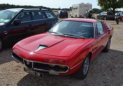 ALFA ROMEO Montreal - 1971 (SASSAchris) Tags: alfa alfaromeo romeo montreal voiture italienne auto trèfle httt htttcircuitpaulricard htttcircuitducastellet ricard castellet circuit 10000 10000toursducastellet tours bertone gandini