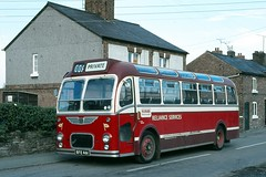 Reliance Services . Kelsall , Cheshire . 31 RFE461 . Kelsall , Cheshire . Saturday 29th-September-1979 . (AndrewHA's) Tags: kelsall cheshire reliance services 31 rfe461 bristol mw ecw bus coach second hand lincolnshire road car 2818