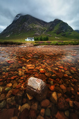 Riverbed (Pete Rowbottom, Wigan, UK) Tags: lonehouse glencoe scottishhighlands scotlandinteresting scotland river water rocks beauty nature red yellow green summer mountains clouds landscape landscapephotography lochaber highlands nisi nisifilters nikond750 portrait peterowbottom cottage remote isolated uk britain photography perspective detail hills outdoor composition riverbed scottishlandscape classiclocation scottishscenery nikkor sky art house new heather trees dramatic geotagged lagangarbh lagangarbhcottage