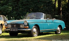 Peugeot 404 cabriolet 1967 (Wouter Bregman) Tags: ae6875 peugeot 404 cabriolet 1967 peugeot404cabriolet peugeot404 pininfarina pinin farina cabrio convertible roadster tourer concours elegance 2019 concoursdélégance paleis soestdijk royal palace palaisroyal baarn nederland holland netherlands paysbas vintage old classic french car auto automobile voiture ancienne française france frankrijk vehicle outdoor