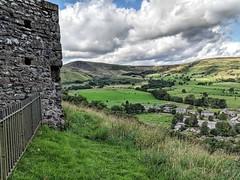 Peveril castle view (Douglas Jarvis) Tags: view architecture building ancient history percivalcastle castle phone pixel2 google mobile
