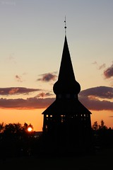 sunset 08 (Irmzaq photography) Tags: sunset sunsetphotography photography nature naturephotography sun sky clouds church oldchurch