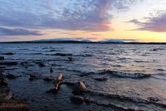sunset 05 (Irmzaq photography) Tags: sunset sunsetphotography photography sun clouds sky water lake waves sweden nature naturephotography