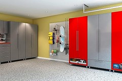 Basement Storage Cabinets In Toronto (spaceageclosets) Tags: basement storage cabinets