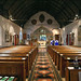 Church of St Andrew, Nuthurst, West Sussex - nave looking east