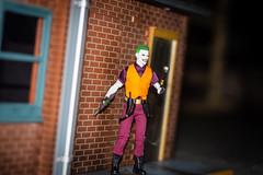 The Joker (misterperturbed) Tags: joker dccomics mezcoone12collective one12collective clownprinceofcrime billfinger streetscene mezco thejoker neca