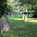 Church of St Andrew, Nuthurst, West Sussex - churchyard 02