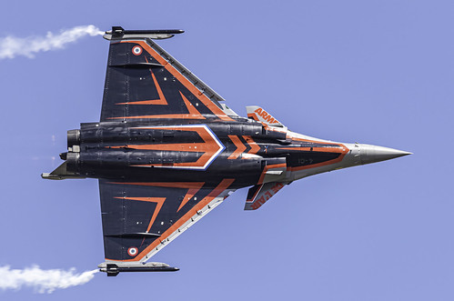 """French Air Force """"Solo Display Team"""" Rafale C"""