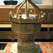 Church of St Andrew, Nuthurst, West Sussex - 14th-century baptismal font