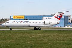 RA-42389 (PlanePixNase) Tags: aircraft airport planespotting haj eddv hannover langenhagen saratov saravia yak 42 yakovlev яковлев як42 yk42
