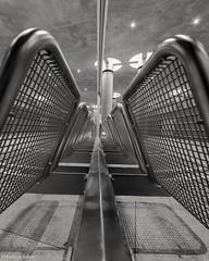 Underground Berlin (andreasscharr) Tags: canon canon5dmarkiv sigma1224mm berlin ubahn underground blackwhite black schwarzweis einfarbig monochrom city germany deutschland architectur architecture