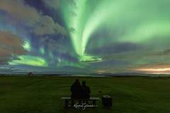 Be happy under the sky (Kjartan Guðmundur) Tags: iceland ísland auroraborealis northernlights arctic norðurljós nocturne nightscape nightphotography sky stars house canoneos5dmarkiv sigma14mmf18art kjartanguðmundur