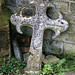 Church of St Andrew, Nuthurst, West Sussex - displaced chancel gable cross finial