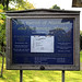 Church of St Andrew, Nuthurst, West Sussex - churchyard notice board