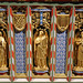 Church of St Andrew, Nuthurst, West Sussex - chancel altar table niches, right