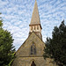 Church of St Andrew, Nuthurst, West Sussex - bell turret and nave from west