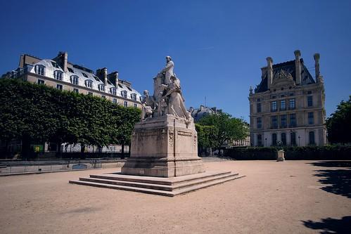 Tuileries Garden. Paris, France