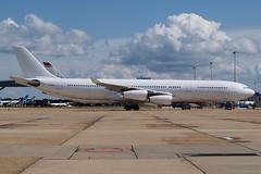 HiFly A340-300 9H-SUN LGW (Chris Goodwin - AirTeamImages) Tags: hifly airlines airbus a340 a340300 9hsun avgeek lgw egkk london gatwick airport beja charter malta