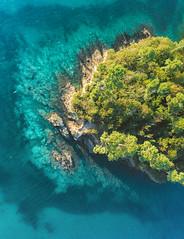 Ombre Turquoise (ThibaultPoriel) Tags: finistère france ansedesaintlaurent forêt bretagne drone djiphantom4pro laforêtfouesnant