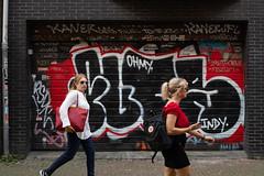 Amsterdam graffiti (PeteMartin) Tags: art graffiti mural shutter women amsterdam netherlands