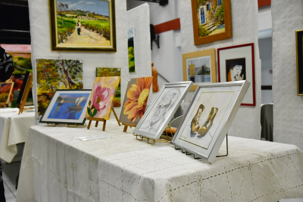 2019-08-31 _ 09-01 - salon Peintures - Sculptures